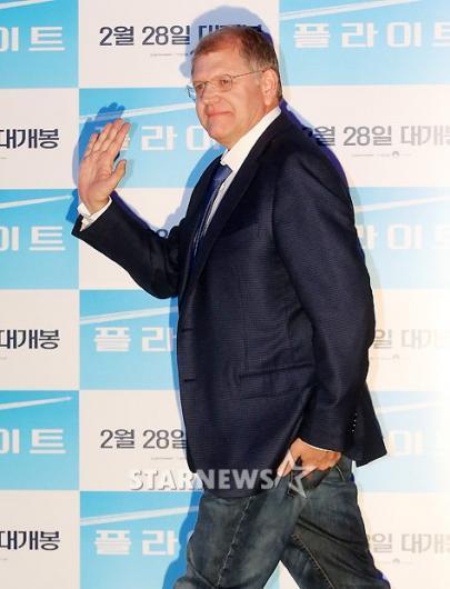 [★포토]로버트 저메키스 감독, '한국은 처음이에요!'