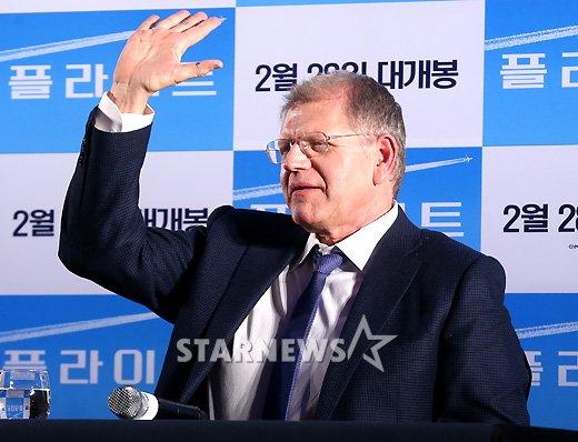 [★포토]로버트 저메키스 감독, '한국은 처음 왔어요'
