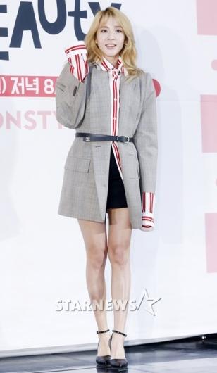 [★포토]산다라박, '아무나 소화 못 하는 스타일링'