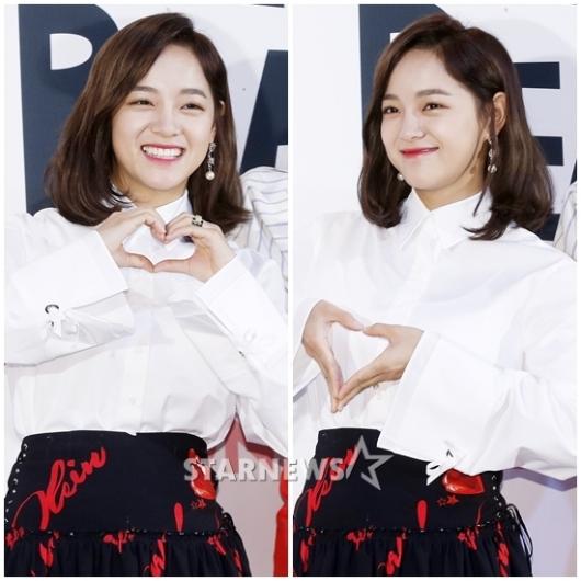 [★포토]세정, '심장이 쿵' 소녀의 하트