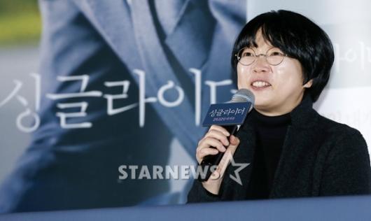 [★포토]영화 '싱글라이더'의 이주영 감독