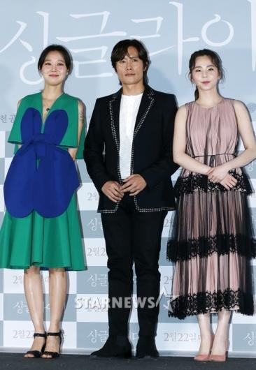 [★포토]공효진-이병헌-안소희, 영화 '싱글라이더'의 주역들