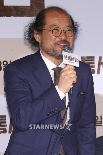 [★포토]김상호, '진실을 찾아 헤매는 기자'
