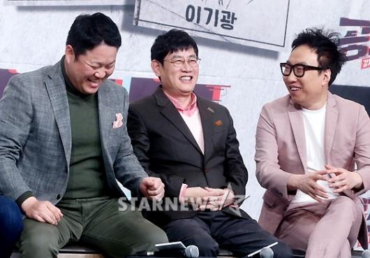 [★포토]이경규 김구라 박명수, '예능 神들의 웃음'