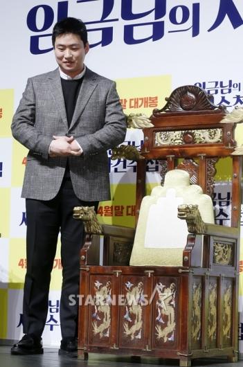 [★포토]안재홍, '여기는 제 자리가 아니에요'