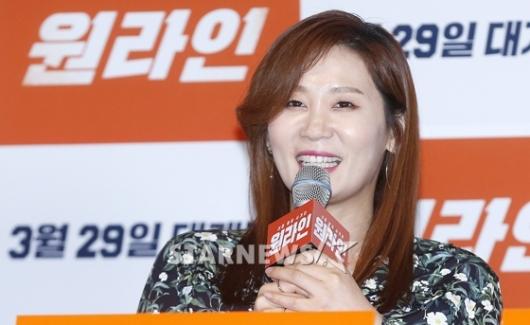 [★포토]김선영, '원라인의 홍대리에요'
