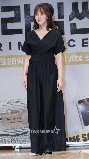 [★포토]박지윤, '블랙 패션으로 우아하게'