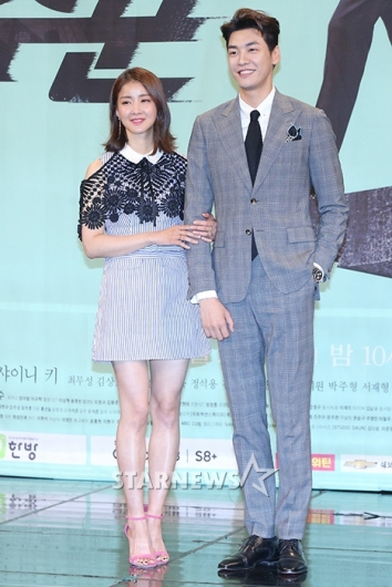 [★포토]이시영-김영광, '저희 잘 어울리죠?'