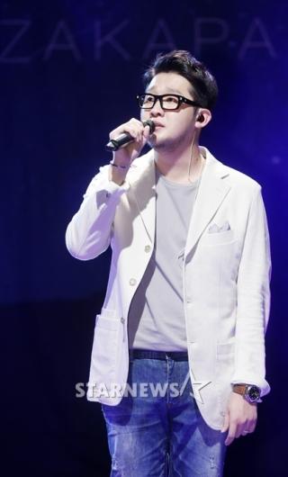 [★포토]박용인, '감성 속 파워풀한 목소리'