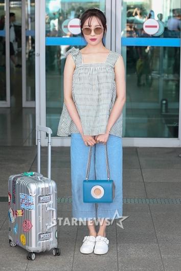 [★포토]선미, 패션은 벌써 여름!