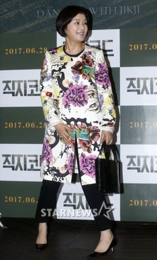[★포토]장미희, '우아함 돋보이는 패션'
