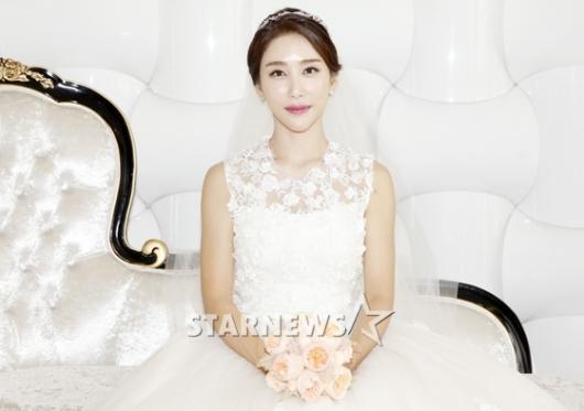 [★포토]신수정, '아름다운 6월의 신부'
