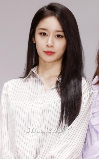[★포토]지연, '시크한 긴 생머리'