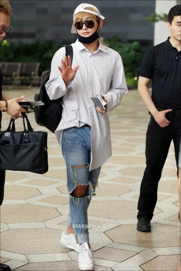 [★포토]강타 '편하게 입어도 멋있네!'
