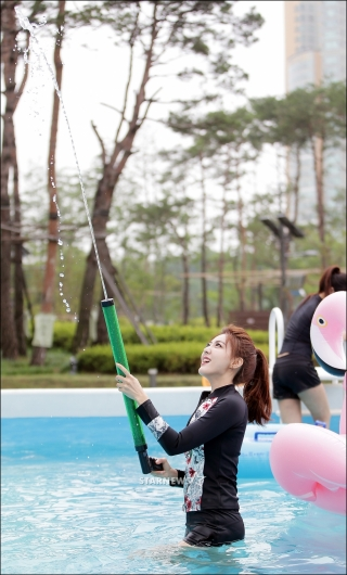 [★포토]미코 미 이수연, '물총 발사'