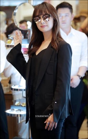 [★포토]김지원, '선글라스로 가린 미모'