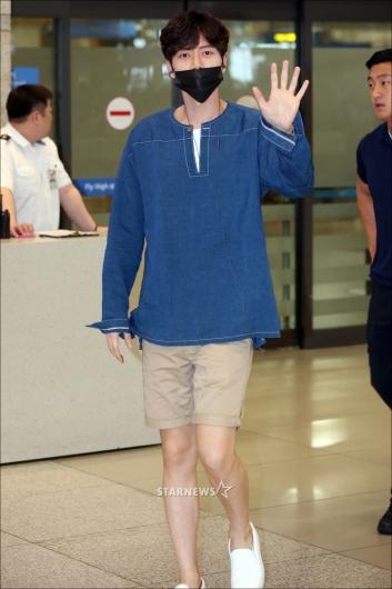 [★포토]박해진 '멋진 남친룩 공항패션'