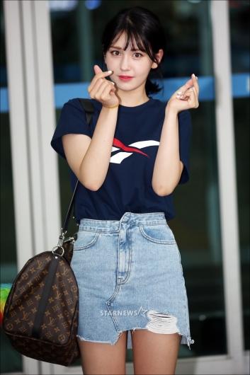 [★포토]전소미 '너무너무 예뻐!'