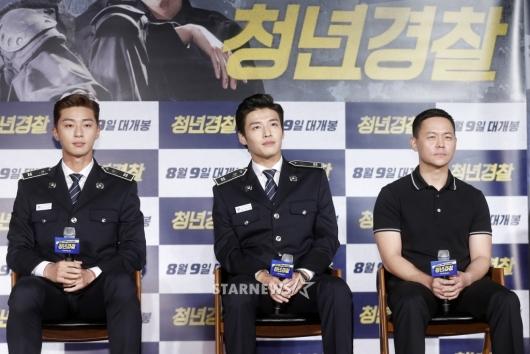 [★포토]영화 '청년경찰'의 주역들