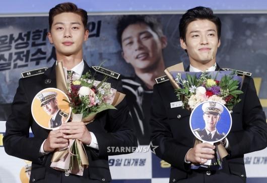 [★포토]박서준-강하늘, '꽃보다 눈길 가는 두 남자'