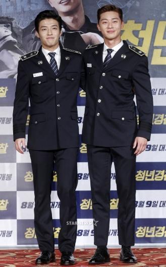[★포토]강하늘-박서준, '훈훈한 두 남자의 케미'
