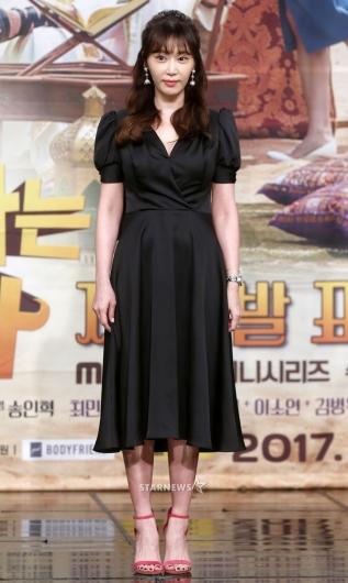 [★포토]강예원, '시선 사로잡는 블랙 원피스'