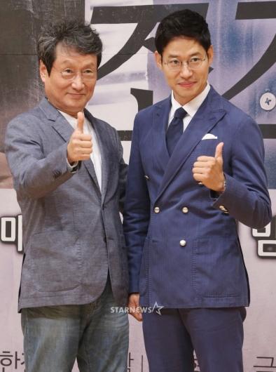 [★포토]문성근-유준상, '우리가 실세'