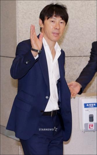 [★포토]월드컵 본선 진출 달성한 신태용 감독