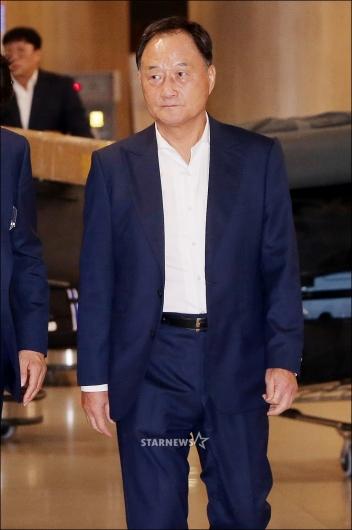 [★포토]김호곤 부회장, '히딩크 만날 생각 없다'