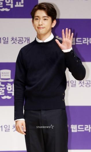 [★포토]진영, '손바닥만 한 작은 얼굴'