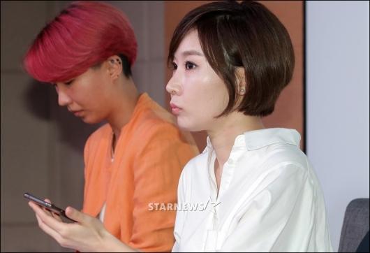 [★포토]이수성 감독 '녹취록' 공개하는 곽현화