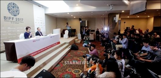 [★포토]'2017 BIFF' 서울 공식 기자회견 개최
