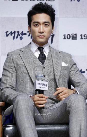 [★포토]송승헌, '멋짐 넘치는 유역비의 남자'