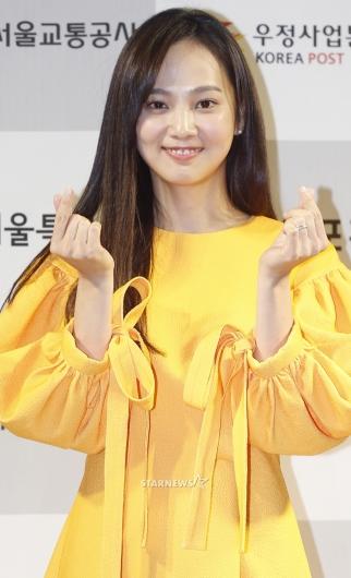 [★포토]윤승아, '김무열이 반한 애교'