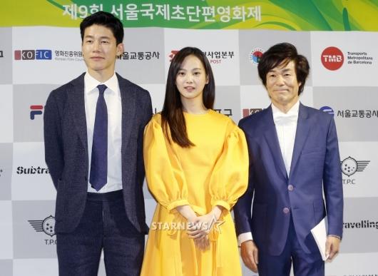 [★포토]김무열-윤승아-오광록, '초단편영화제 참석'