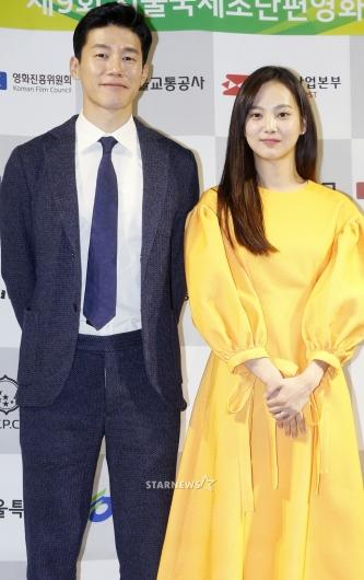 [★포토]김무열-윤승아 부부, '너무 잘 어울려'