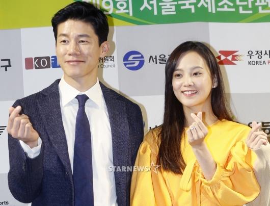 [★포토]김무열-윤승아, '함께하면 사랑 두배'