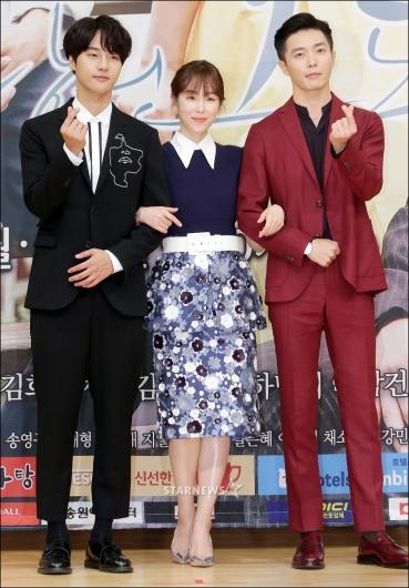 [★포토]양세종-서현진-김재욱, '우린 삼각관계'
