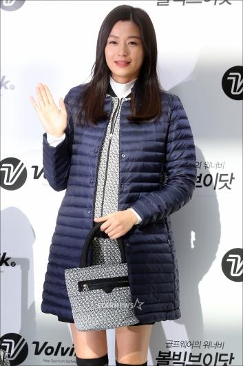 [★포토]전지현 '둘째 임신중이에요'