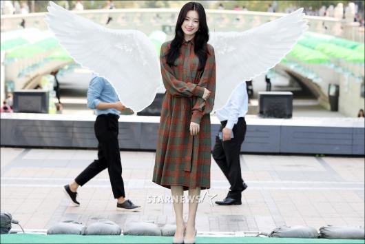 [★포토]한효주 '오늘은 천사'