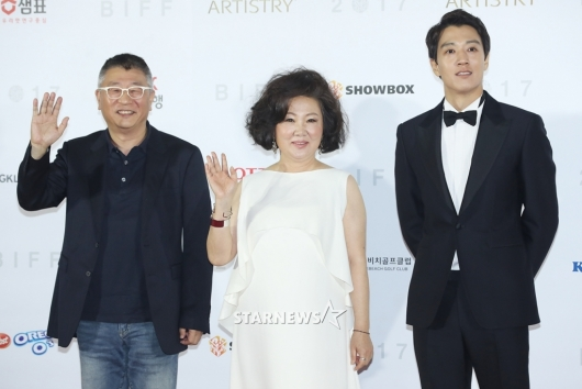 [★포토]곽경택-김해숙-김래원, '부산왔어요'