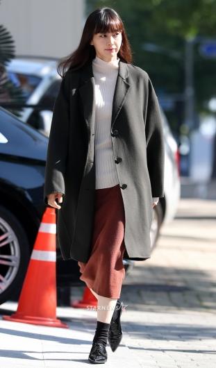 [★포토]이나영, '가을 패션의 정석'