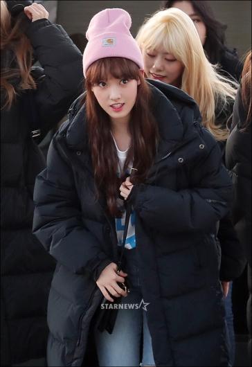 [★포토]세이, '귀여운 핑크 모자'