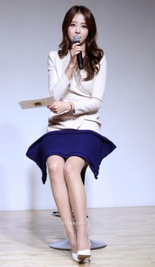 [★포토]배지현, '류현진의 예쁜 예비신부'