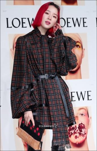 [★포토]아이린, '빨간 머리도 완벽하게'