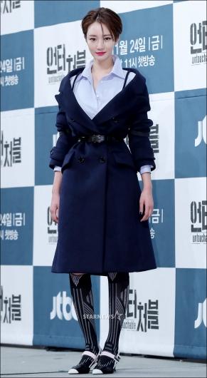 [★포토]고준희, '독특한 니삭스 패션'