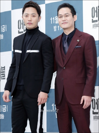 [★포토]진구-김성균, '상반되는 형제'