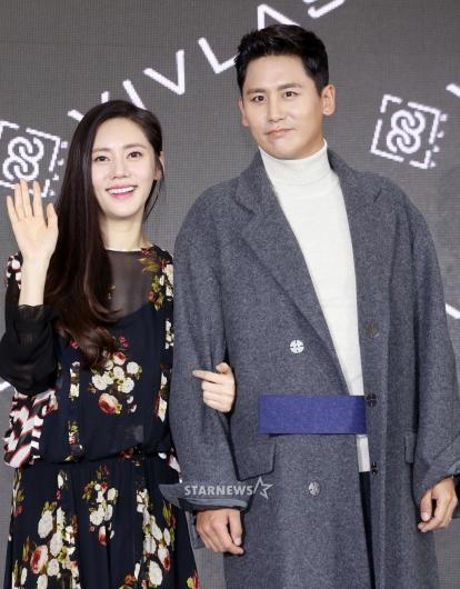 [★포토]추자현-우효광, '세상에서 제일 달달한 부부'