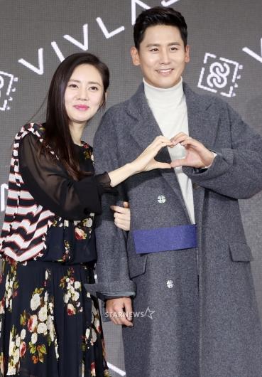 [★포토]영등포에 뜬 추자현-우효광 부부