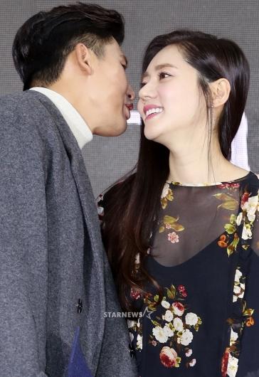 [★포토]우효광-추자현, '사랑의 대화'